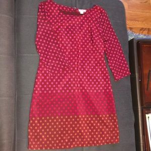 Polka dot work dress